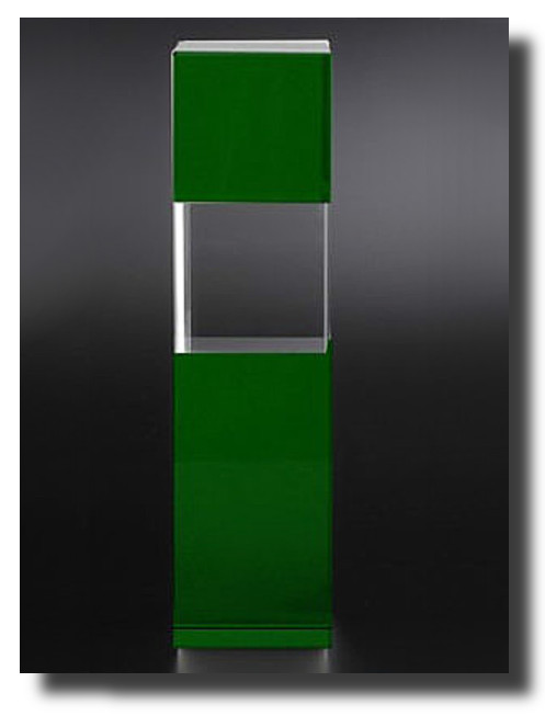 Glasaward Cubix-green