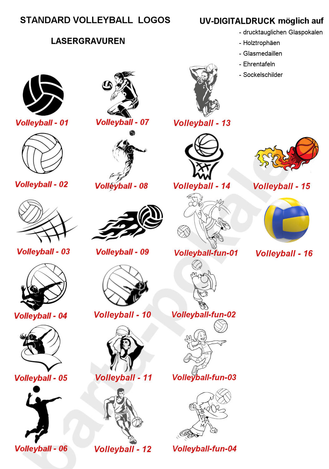 Logos Volleyball